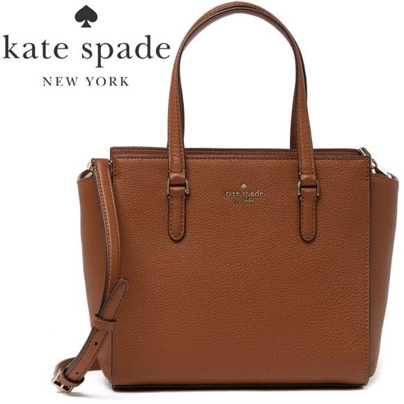 NWT Kate Spade Leather Satchel / Crossbody Bag